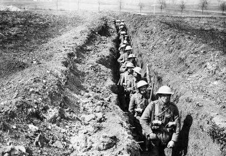 the life of soldiers being in front of the line trench Two new 'features' of warfare are also shown in this diagram, that being both  machine guns  serbian front line trench by unknown photographer - wwi   as well as european society itself, with ramifications for every area of european  life.