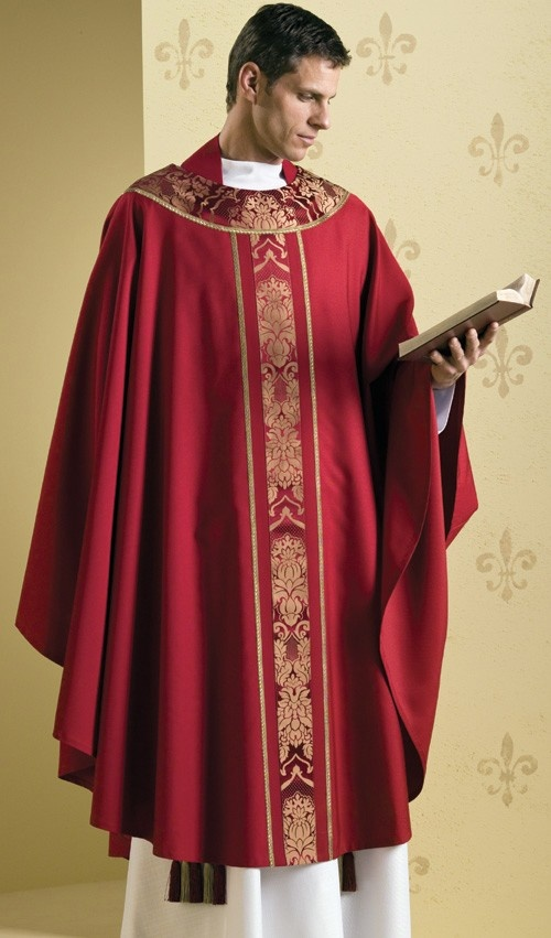 What is the name of the luxurious clothing worn by priests ...