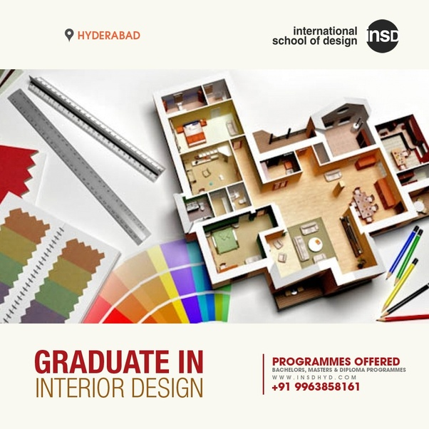 Interior Design In India Hyderabad: Which Is The Best Institute For Interior Design Course In