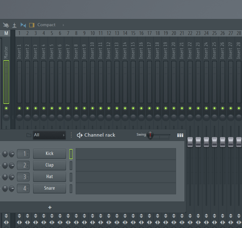 How to make my own drum loops in FL studio without using any