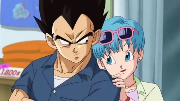 Vegita and bulma have sex