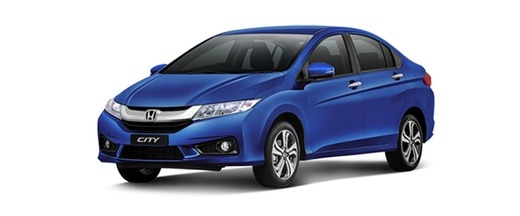 Captivating Honda City Comes In Following Colors: Brilliant Sporty Blue Metallic