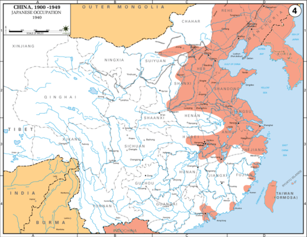 Why couldnt the japanese armies control and conquer chinese however japanese did not make major inroads from southern china you can see from the map that they actually succeeded in conquering pockets of coastal gumiabroncs Image collections