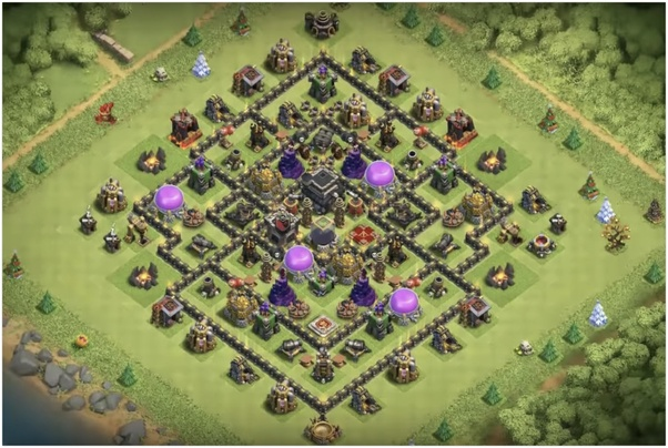 what is the best clash of clans th9 base quora