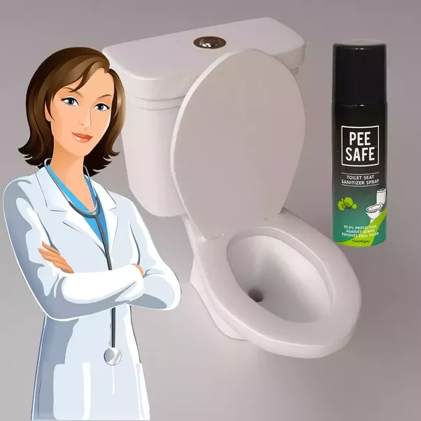 Can Use A Toilet Seat Sanitizer Which Will Reduce The Percentage Of Bacteria Are Present Over Peesafe
