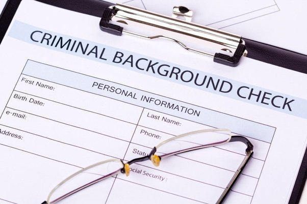 how to check your criminal backround