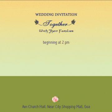 How to make a short wedding invitation video are there any easy to free videos instant purple business a traditional text based video invite stopboris Image collections
