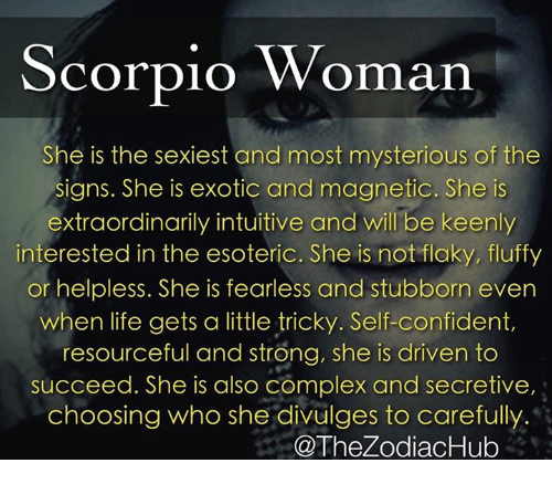 Why are scorpios so crazy