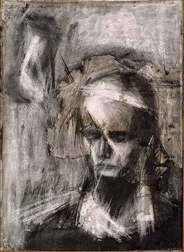 Are there artists whose main artworks are gesture drawings