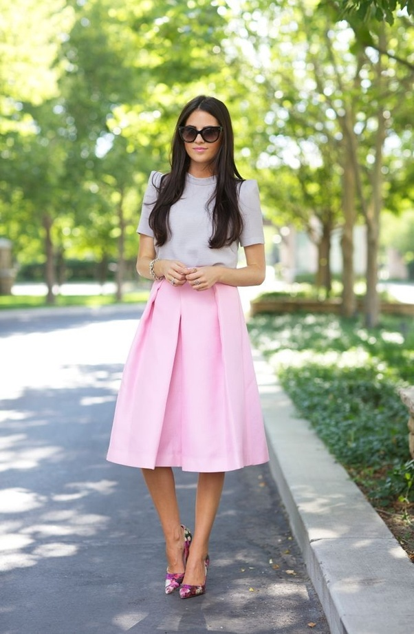What Top Should I Wear With A Pink Skirt Quora