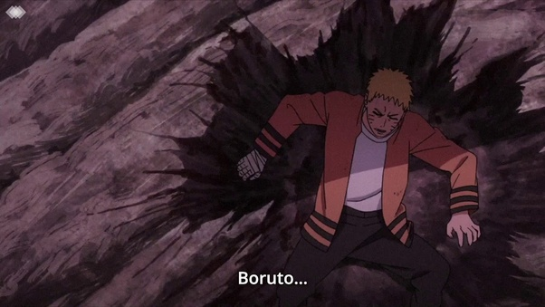 What is Boruto's right eye called (the one we saw in the first