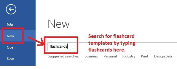 How To Make Flashcards On Microsoft Word Quora - Microsoft word flashcard template
