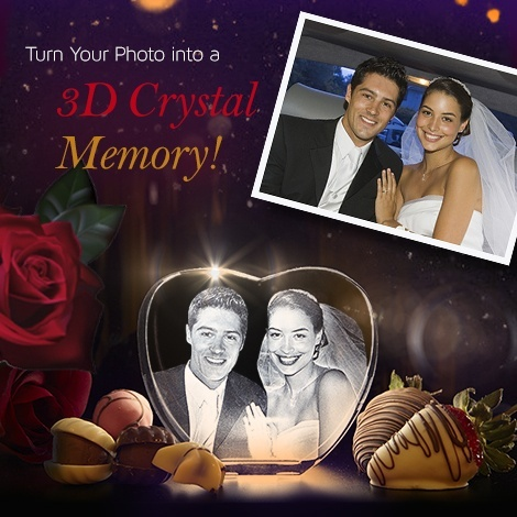 I Got My Best Gift On Last Christmas To Wife It Is Crystal Our Marriage Ceremony Photo Captured In And Engraved The Heart