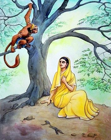Image result for ashoka tree sita