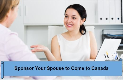 How much money do you need to sponsor your spouse to come to