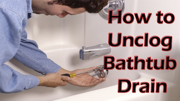 It Is Very Frustrating To See A Clogged Bathtub Drain Specifically When You Need Shower Or Take Bath Fortunately Do Not Require Calling The