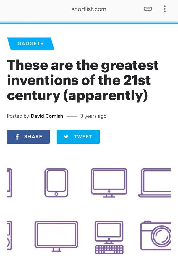 greatest inventions of the 21st century