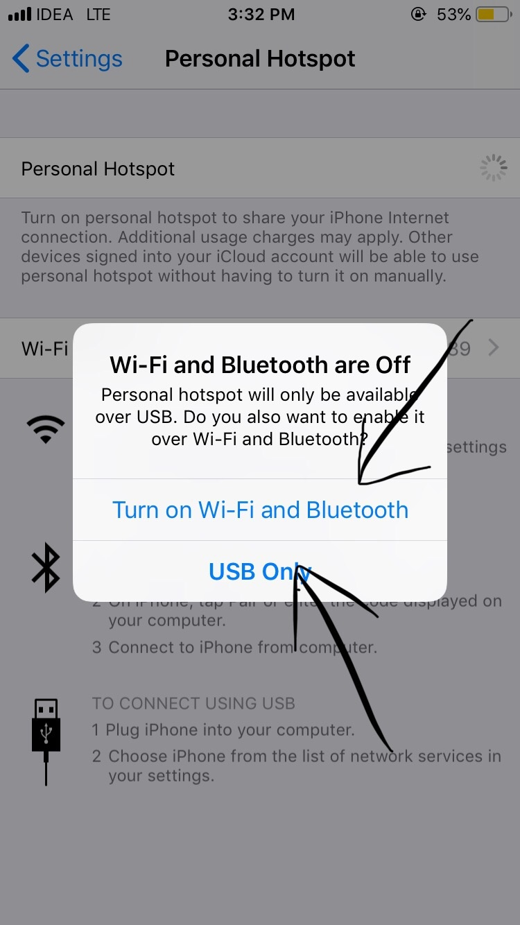 How to share a wifi from iPhone to Laptop/PC - Quora
