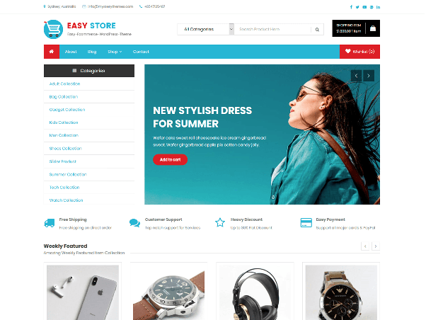 What is the best wordpress theme for an e commerce website quora easy store is a great free woocommerce wordpress theme for online stores and ecommerce businesses it is fully compatible with woocommerce yith woocommerce cheaphphosting