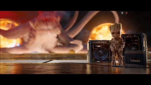 Baby Groot Cake Visual