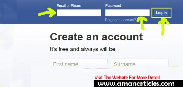 Facebook.com, home, page, sign
