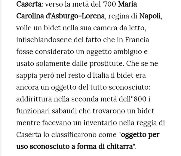 Perche Il Bidet Viene Usato Solo In Italia Quora