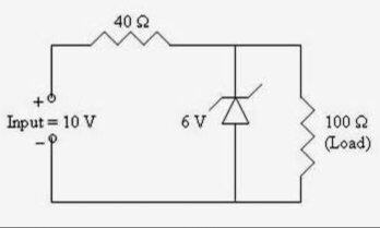 Why does zener diode work in reverse bias quora here as you can see the breakdown voltage of the zener diode is 6v so that means when the voltage crosses 6v then the diode is in reverse breakdown and ccuart Choice Image