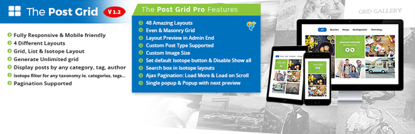 Which WordPress plugin is best for post grid? - Quora