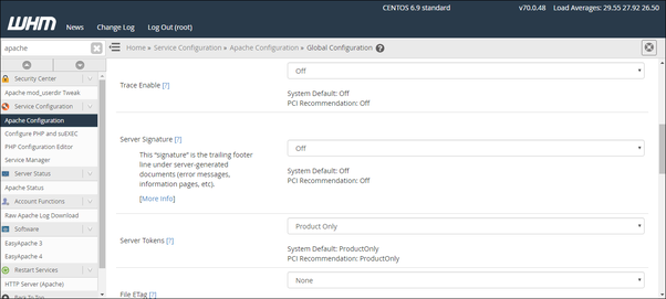 How to turn off the server signature in cPanel - Quora