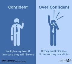 How to deal with overconfident people