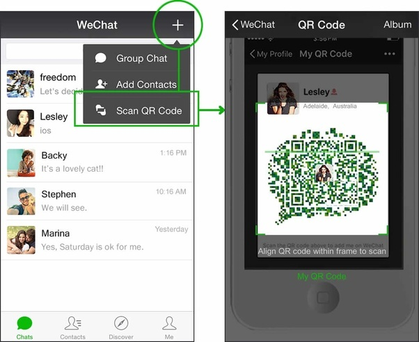 How to get the WeChat ID of a person - Quora