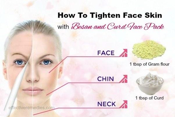 Tighten Forehead Skin Naturally