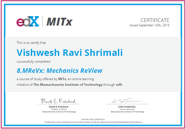 How did any edx certificate looks like? (please upload your ...