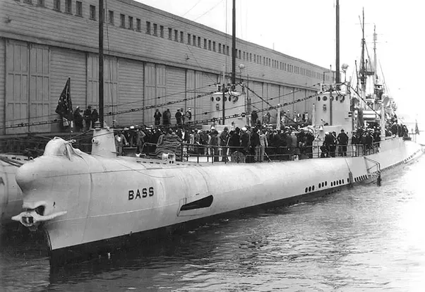 during world war 2 which nations� submarines were the