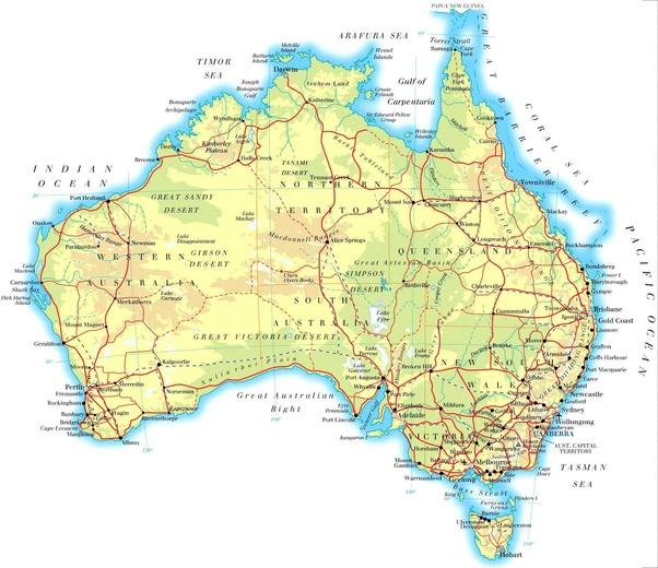 Do many Australians live in the Australian desert or just in ...