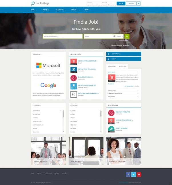 i want to build a job board website like indeed  should i