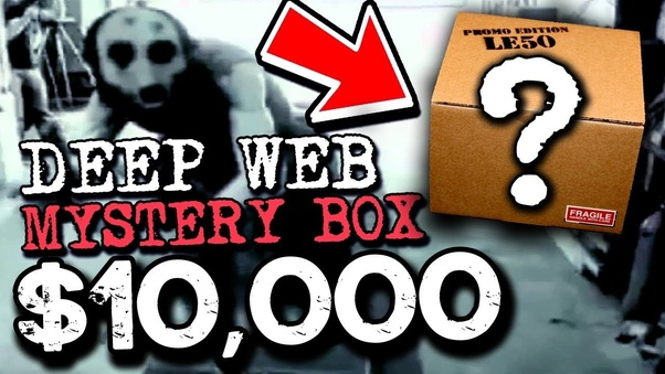 Have you ever bought a mystery box from the dark web? - Quora