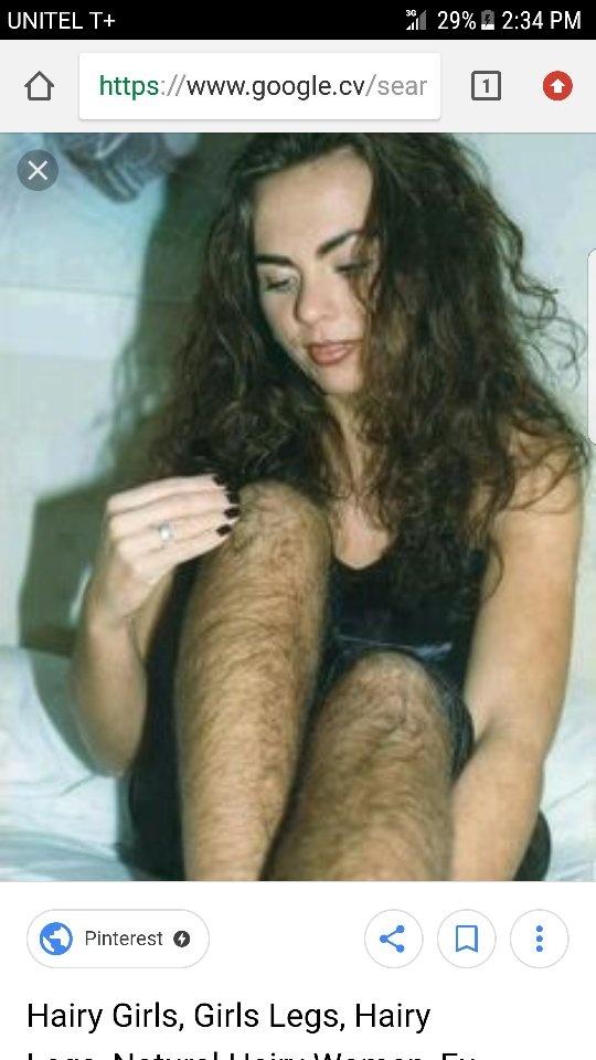 Very hairy women