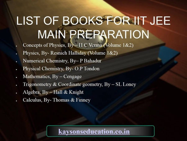Which are the best books for jee quora best of luck fandeluxe Images