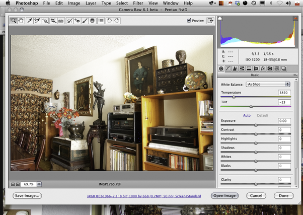 how to open camera raw in photoshop cs6 without bridge