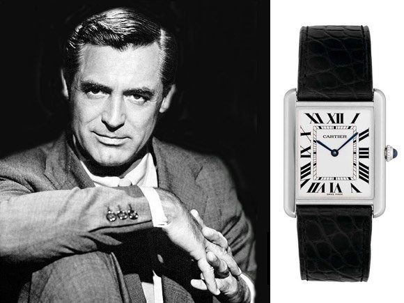 What are some celebrities that used to wear cartier tank watches quora for Celebrity watches male