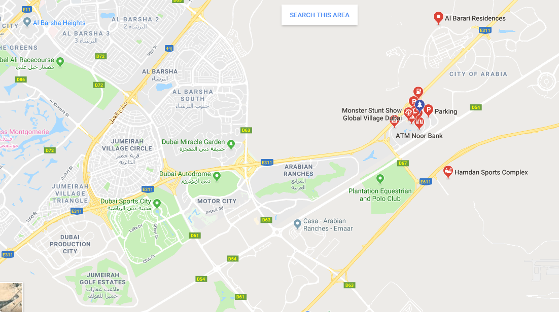 How to reach Global Village, Dubai - Quora Dubai Global Map on
