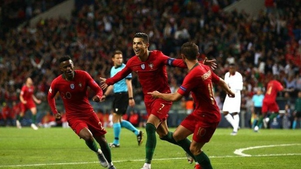 What Is Your Take On Cristiano Ronaldo S Hat Trick Against Switzerland In The Uefa Nations League Semifinal Quora