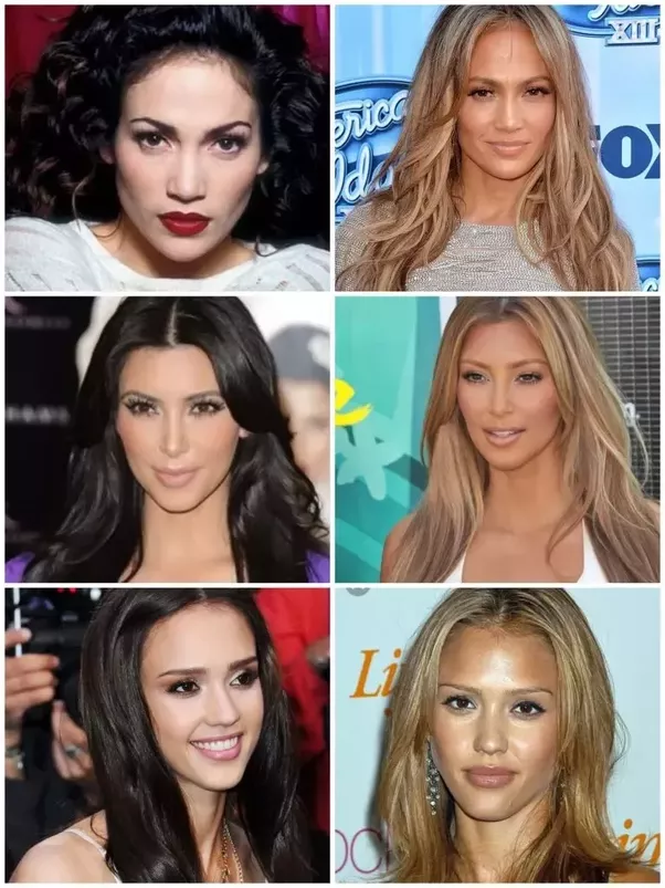 Do lighter hair shades make your skin look lighter or darker? - Quora
