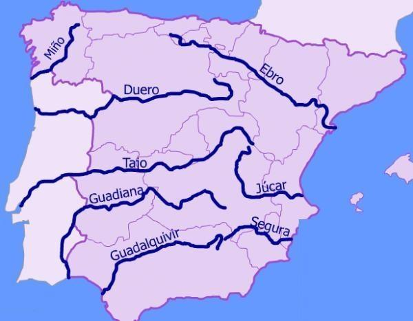 How To Describe The Longest River In Spain Quora - European rivers