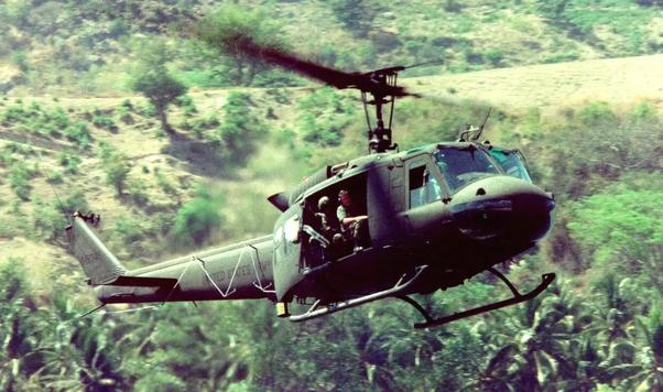 vietnam war helicopters