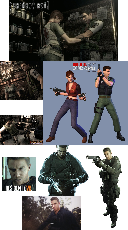 Do You Like Chris S Chris Redfield New Look In Resident Evil 7