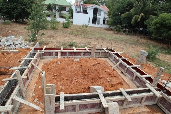What is the difference between plinth level and formation for Building a house from the ground up cost