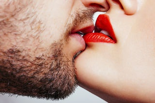 What do i do with my tongue when i kiss