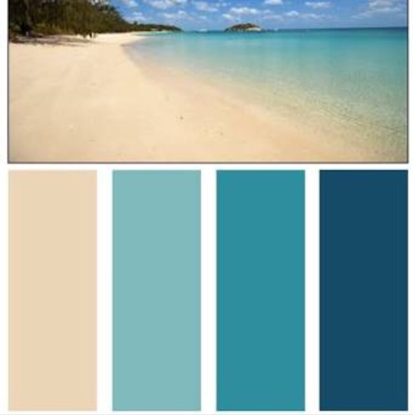 What Wall Color Matches Well With The Ocean Green On